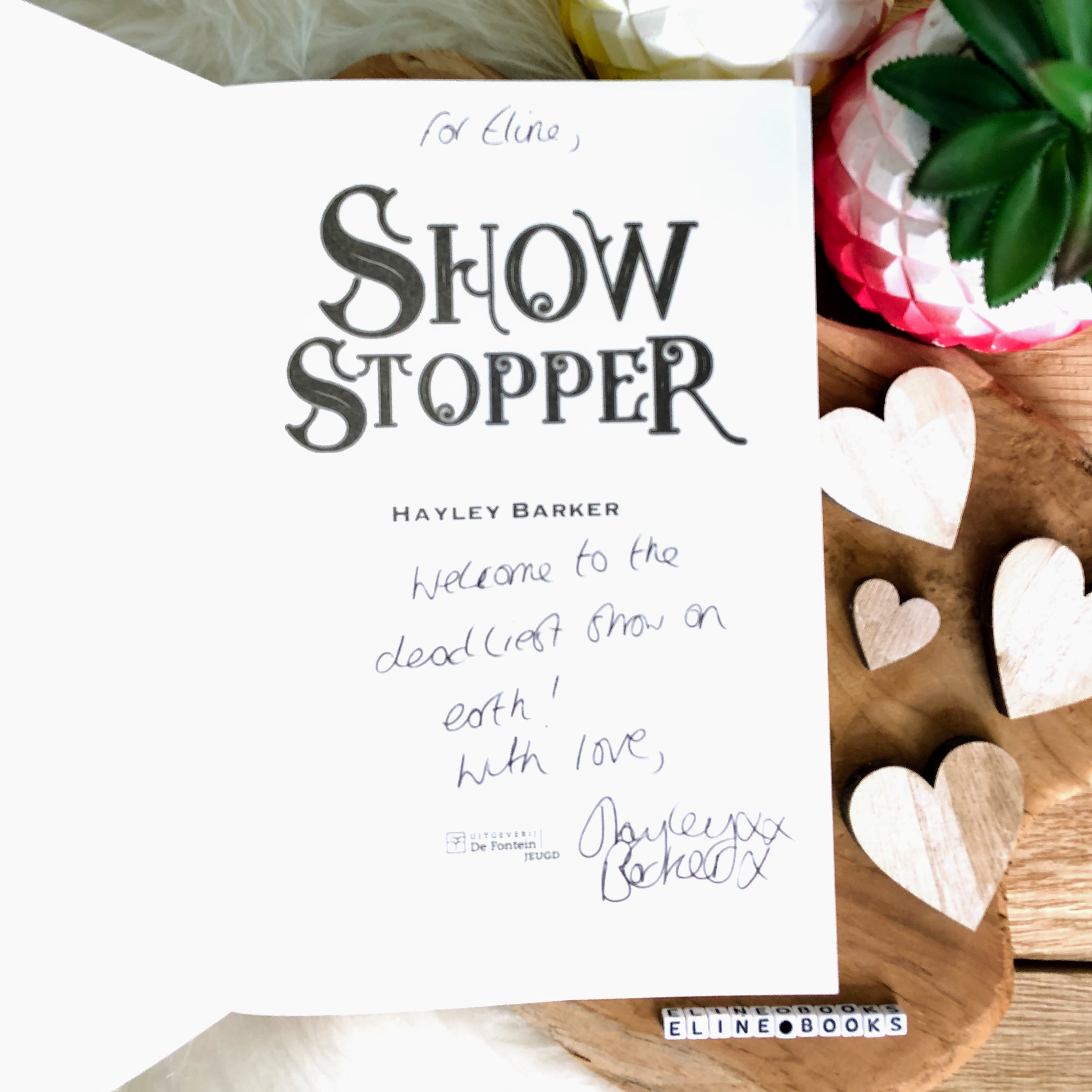 Showstopper handtekening